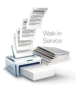Walk-in Service